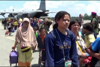 15 ribu pengungsi tinggalkan Wamena