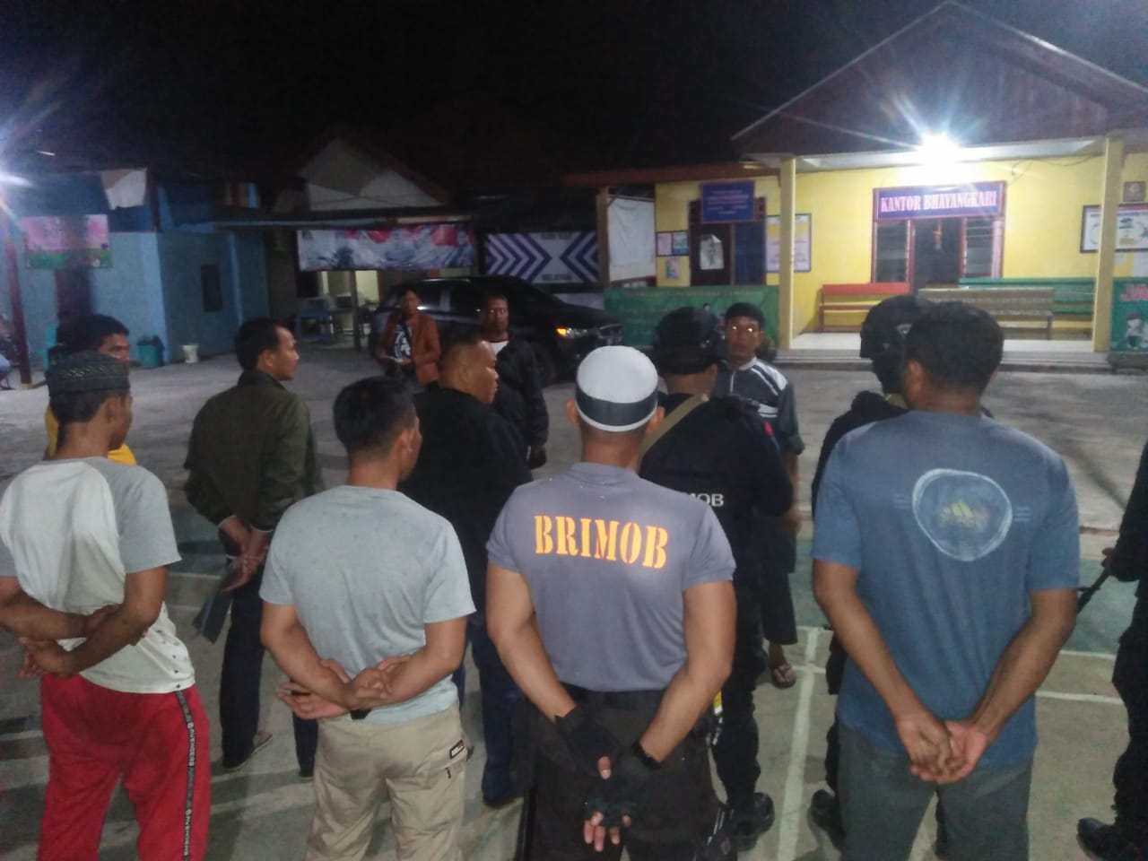Kapolsek Karossa Amankan 3 Pelaku Penimbun BBM di SPBU Karossa Kabupaten Mamuju Tengah