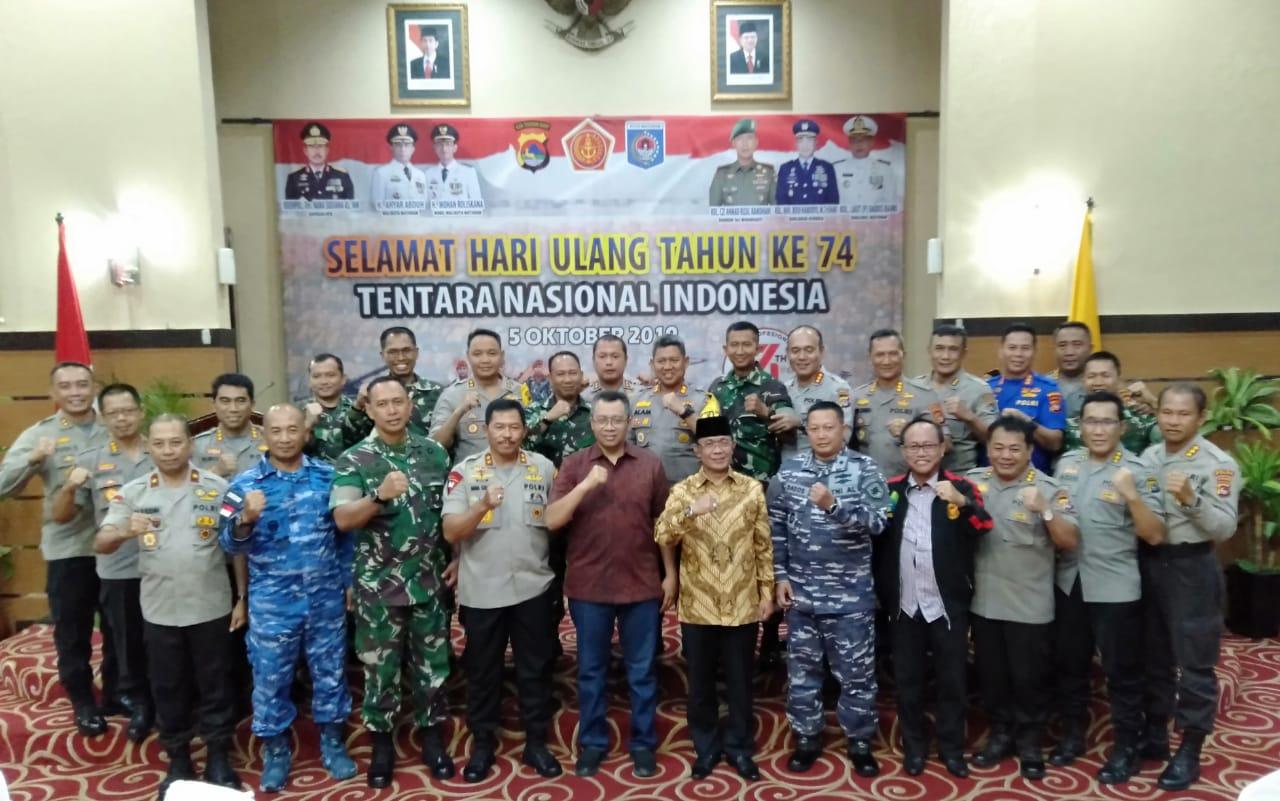 Puncak Peringatan HUT TNI ke 74 tahun 2019 di NTB, Meriah