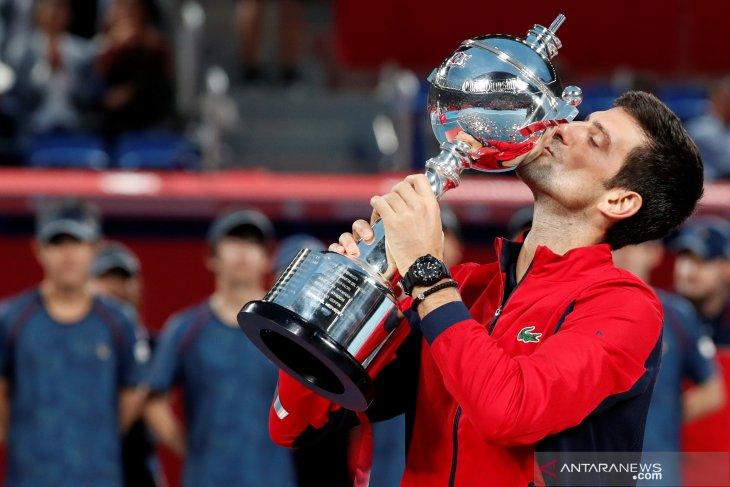 Novak Djokovic raih gelar Jepang Terbuka pertamanya