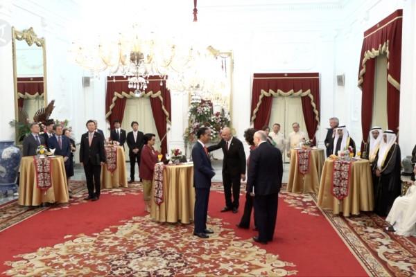 Presiden Jokowi terima kunjungan pimpinan negara sahabat usai pelantikan