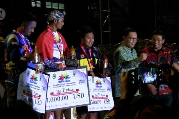 West Java Paragliding World Championship promosikan pariwisata Sumedang