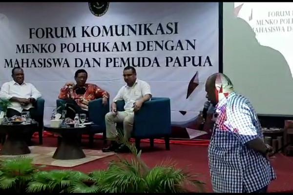 Menkopolhukan siap memfasilitasi mahasiswa Papua