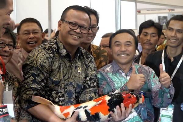 Menteri Edhy Prabowo jamin pembudidayaan ikan hias