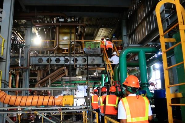 Mesin PLTU Jeranjang diperbaiki guna menjamin pasokan listrik