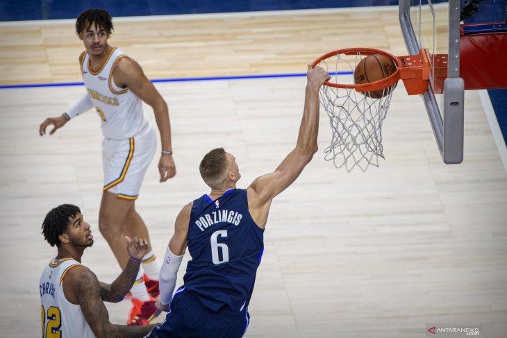 NBA : Luka Doncic cetak 35 poin bawa Mavericks kalahkan Warriors