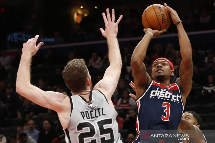 NBA : Wizards kalahkan Spurs 138-132