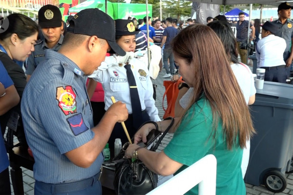 Penjagaan Philippine Arena diperketat
