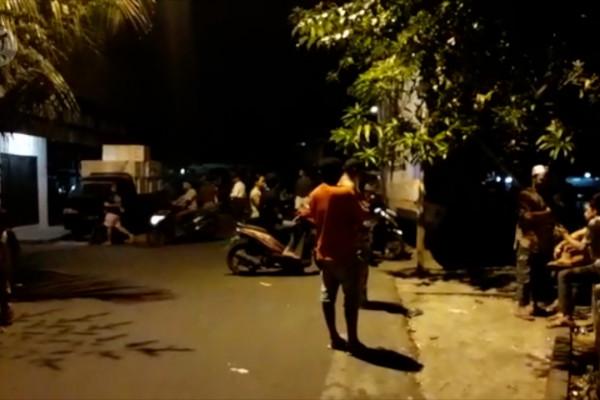 Suasana di Ternate Selatan pascagempa magnitudo 7,1