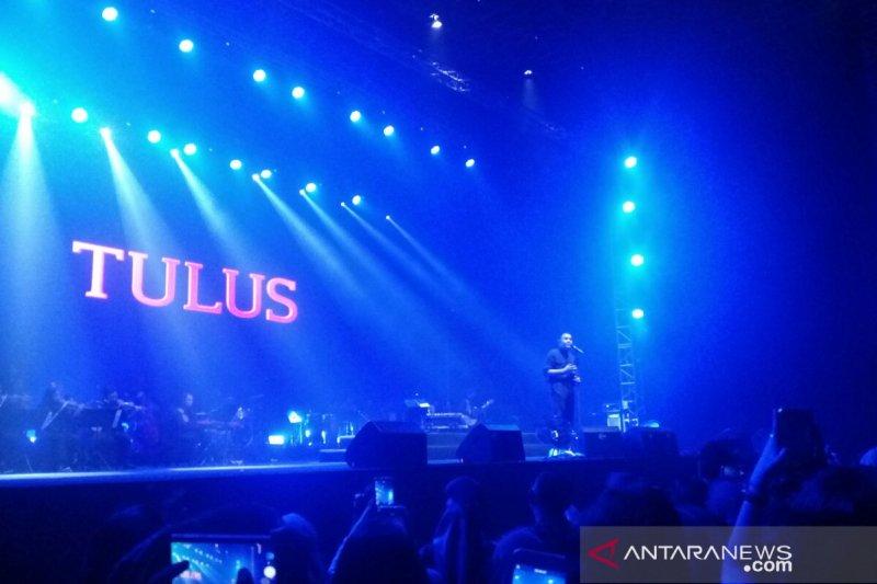Tulus deg-degan tampil di konser Festival Sewindu di Jakarta
