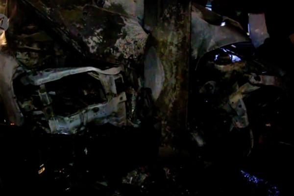Mobil terbakar di jalur pantura Kota Cirebon
