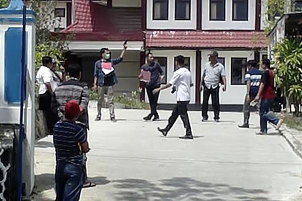 Polisi lakukan rekonstruksi ulang penembakan mahasiswa Kendari