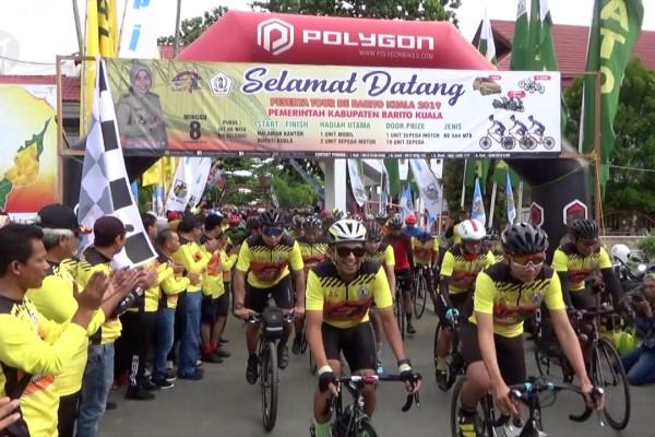 Tour de Barito Kuala, perkenalkan eksotika alam Barito