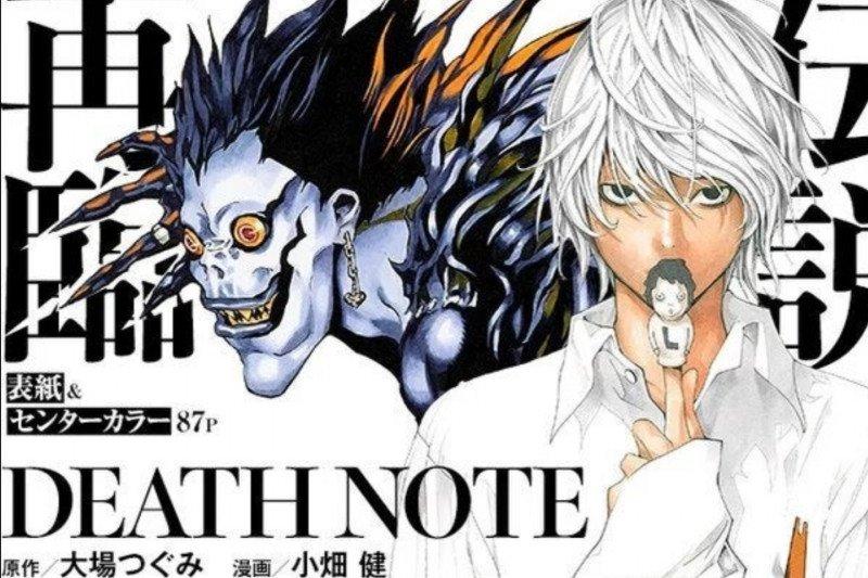 """14 tahun berlalu, bab baru manga """"Death Note"""" akan dirilis"""