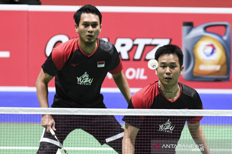 Ahsan/Hendra awali 2020 hadapi Ou Xuan Yi/Zhang Nan di Malaysia