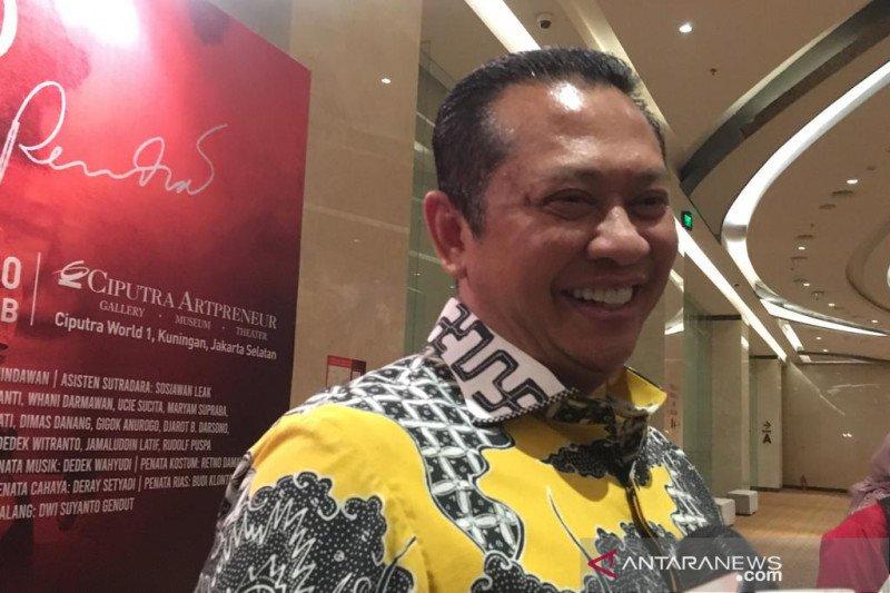 """Lakon """"Panembahan Reso"""" masih relevan, kata Bambang Soesatyo"""