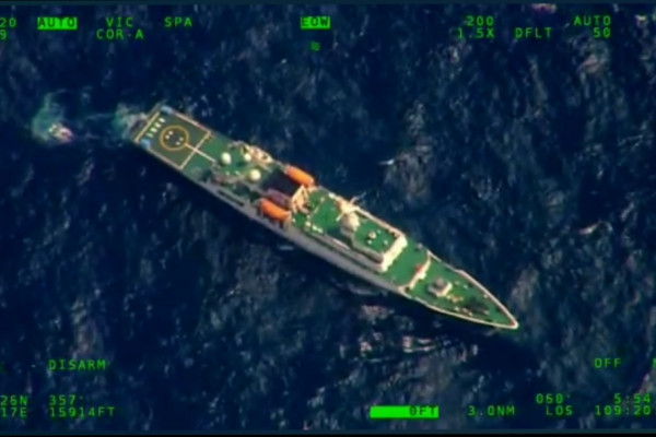 Saat Kapal Cost Guard China kawal nelayannya keruk hasil laut NKRI di Natuna
