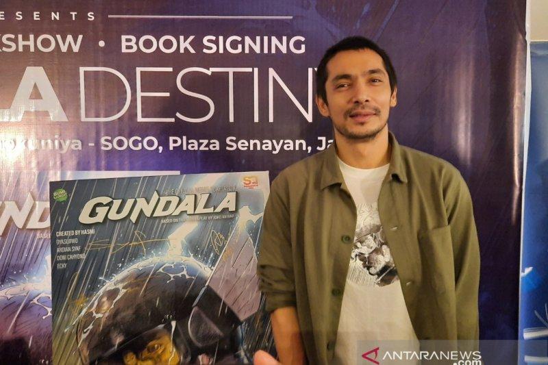 Abimana Aryasatya ingin komik asli Indonesia berjaya