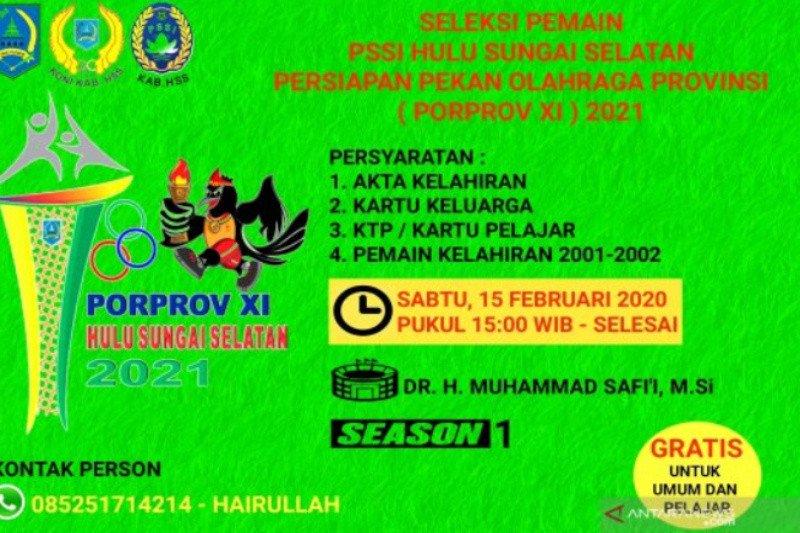 Askap PSSI HSS jaring atlet jelang Pelatkab Porprov XI
