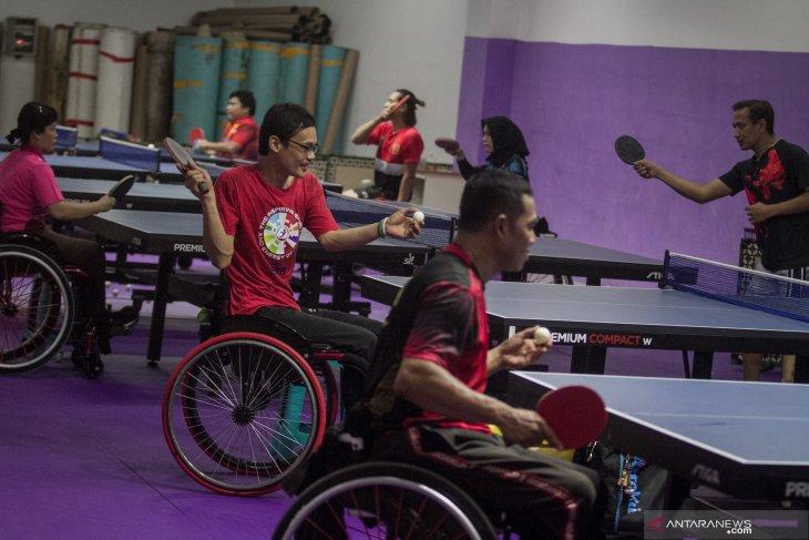 Pelatnas tenis meja ASEAN Para Games 2020