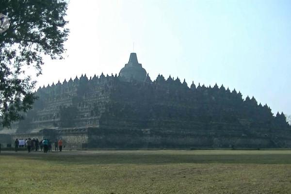 Borobudur aman dari virus corona, kunjungan wisatawan normal