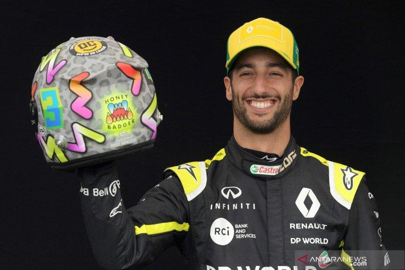 Renault bakal potong gaji Ricciardo akibat pandemi