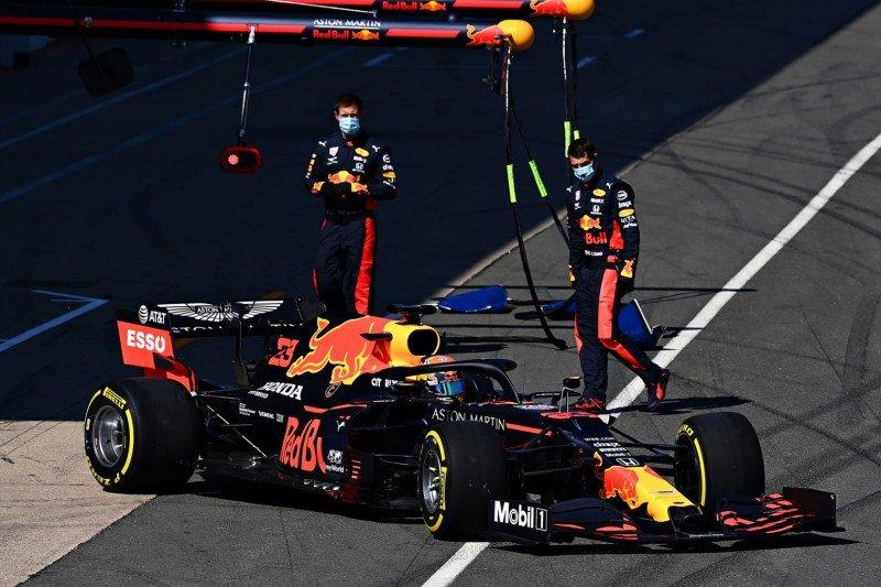 Red Bull gelar tes privat di Silverstone