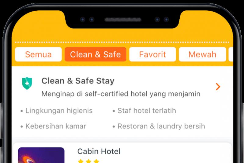 """Pegipegi punya fitur """"Clean & Safe Stay"""", pastikan keamanan menginap"""