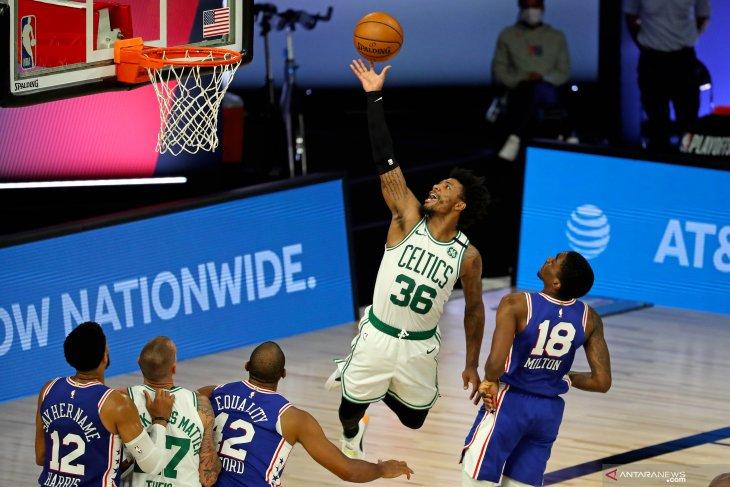 NBA: Boston Celtics memimpin 3-0 setelah kalahkan Philadelphia 76ers 102 – 94