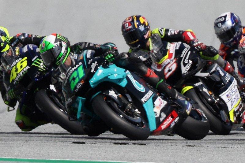 Zarco jelaskan insiden tabrakan dengan Morbidelli di GP Austria