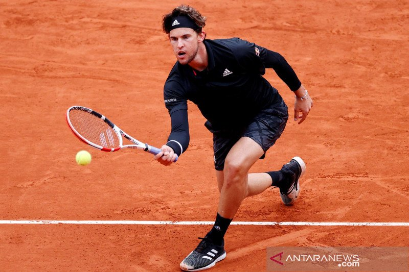 Cedera kaki jadi alasan Thiem mundur dari Paris Masters