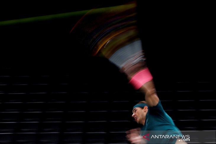 Nadal melaju pada ajang ATP Masters 1000