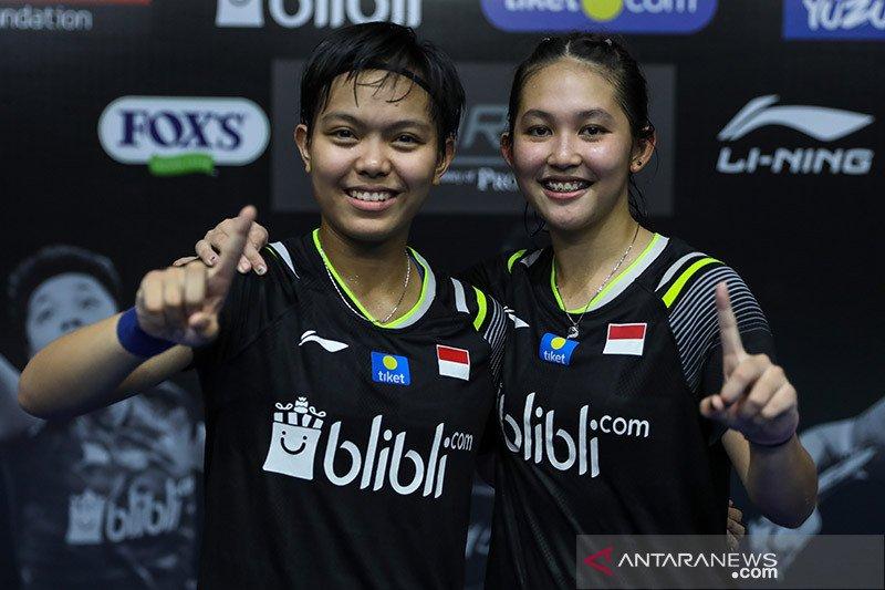 Dihadang Lefel/Tran, Fadia/Ribka gagal ke babak dua Thailand Open