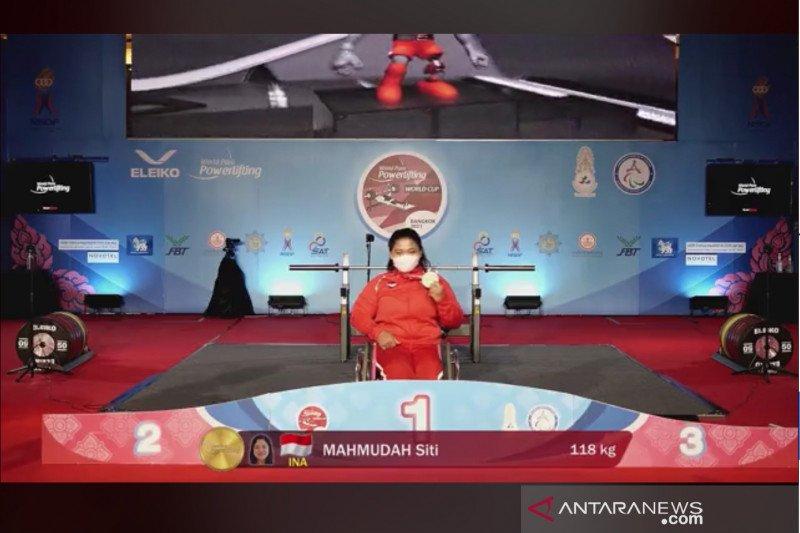 Indonesia tambah dua gelar di World Para Powerlifting World Cup 2021