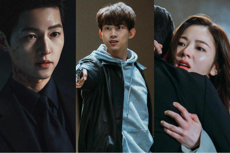 "Pesan Song Joong-ki hingga Taecyeon 2PM jelang akhir ""Vincenzo"","