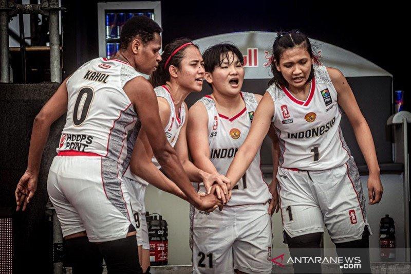 Timnas basket 3×3 putri akan berlaga di FIBA U-23 World Cup