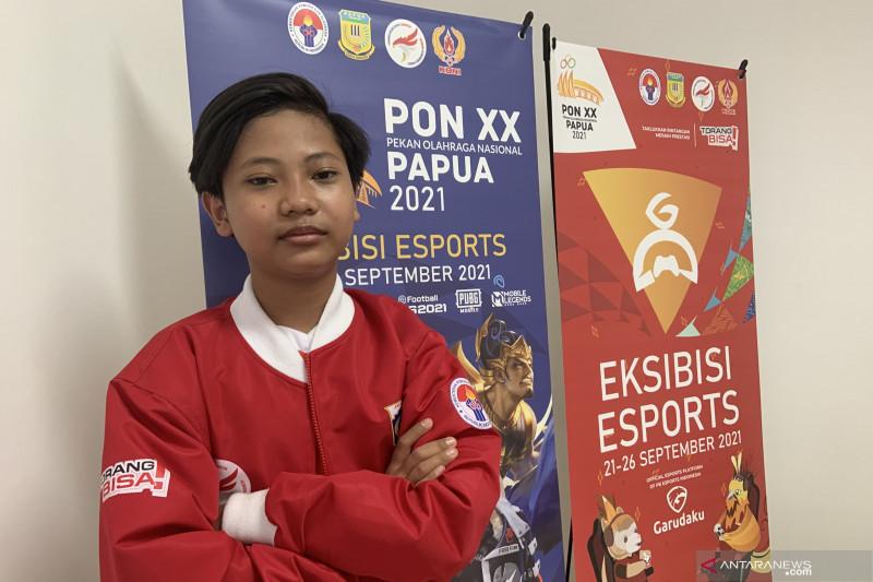 Remaja 13 tahun ini jadi atlet esport termuda di PON Papua