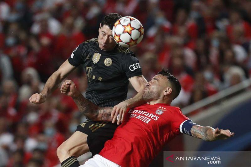 Liga Champions: Bermain tandang, Bayern Munich kalahkan Benfica 4-0